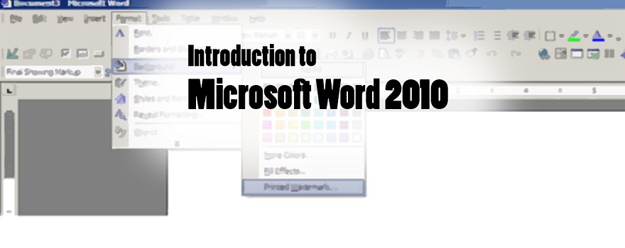 introduction to microsoft word 2010 pdf