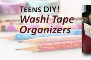 Teens diy washi tape organizer sept 14 auburn public library join us once a month for a do it yourself craft this month were getting organized stop by the teen space to make an organizer using cereal boxes and solutioingenieria Choice Image